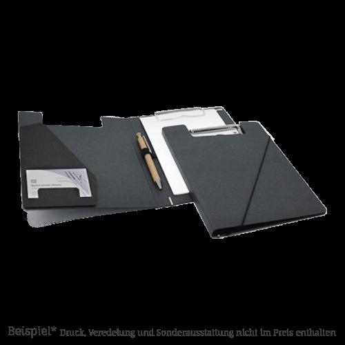 416 A5 Klemmmappe Anthrazit Design