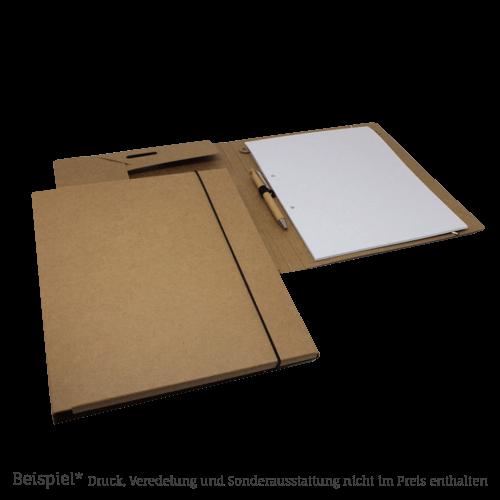 10609 BL Tagungsmappe Natur Pappe