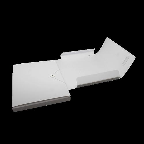 205 1 Sammelmappe Karton weiss