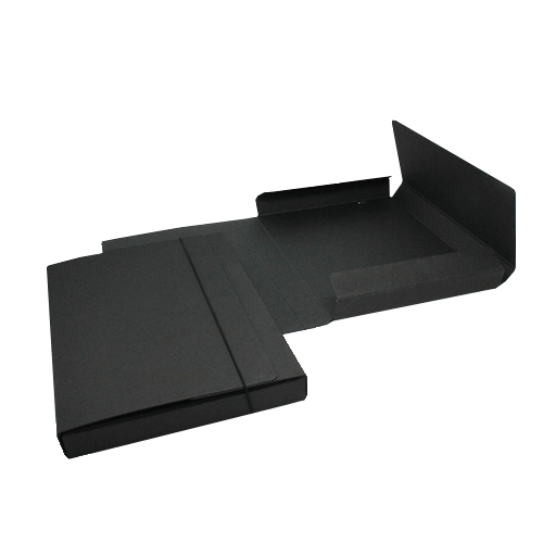 305 Sammelmappe LesNaturals Pappe schwarz