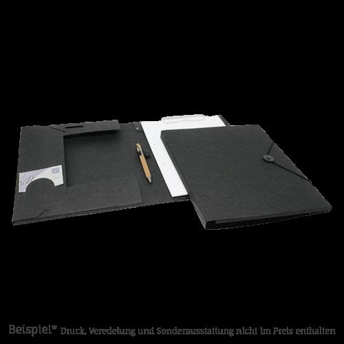 309 Black Tagungsmappe LesNaturals Pappe