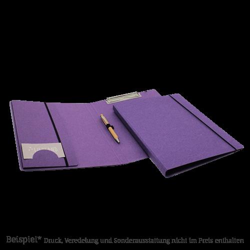 310 Schreibmappe LesNaturals Pappe lila